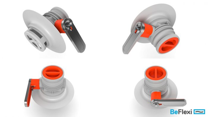 3d models of hose valves rendered in many angles created for a product design marketing campaign for our client beflexi | Cy