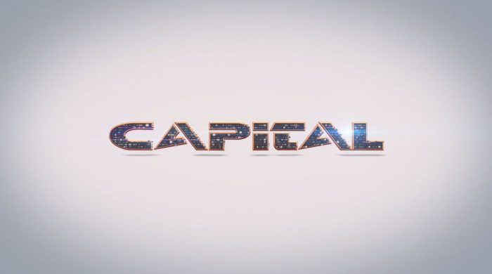 3d modeling, 3d animation and visual effects produced for Capital TV's animated logo in Limassol, Cyprus