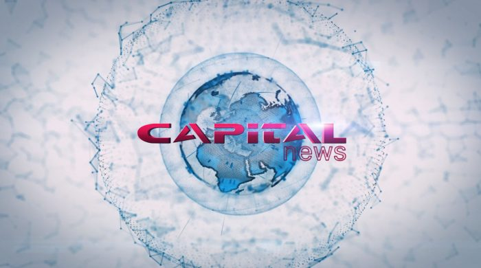 3d animation and visual effects produced for Capital TV's animated logo in Limassol, Cyprus